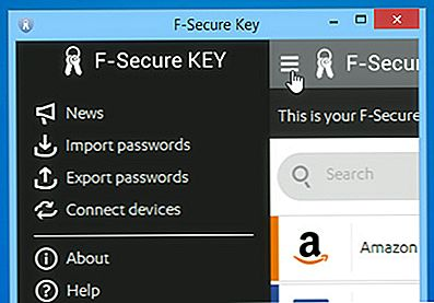 F-Secure KEY: Secure Password Manager til Windows, Mac, Android og iOS