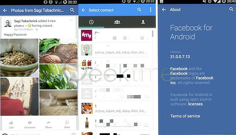 "Facebook ""Breaks"" sit løfte, starter Facebook og WhatsApp Integration"