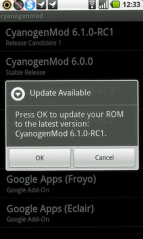 Download CyanogenMod 6.1 Android 2.2.1 Froyo Custom ROM