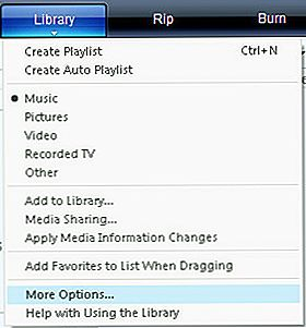 Cómo organizar sus medios digitales usando pasos simples en Windows Media Player