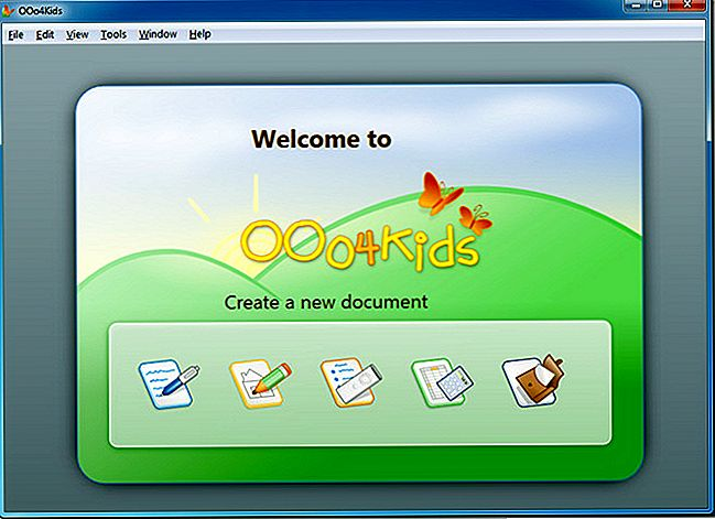 OOo4kids je OpenOffice Office Suite za otroke v starosti 7-12 let
